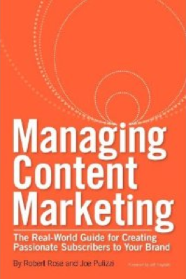 Managing Content Marketing Book